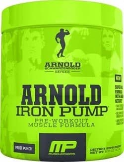 Arnold Iron Pump Pre Workout