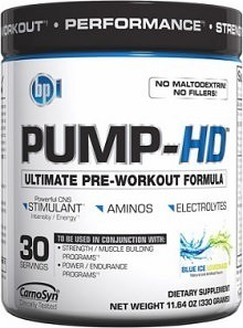 BPI PUMP HD Top Pre Workout Supplements