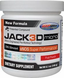 Jack3d Micro Preworkout powder