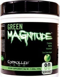 Green Magnitude Creatine Supplement