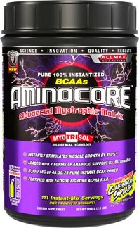 Aminocore on the top bcaa supplement list