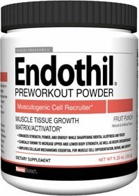 New Endothil Pre Workout