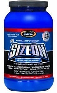 Size-on Intra Workout Amino Acids