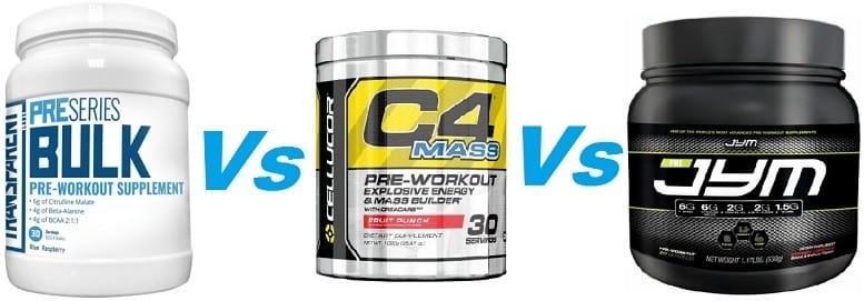 Best pre workout supplement for mass gain opinie
